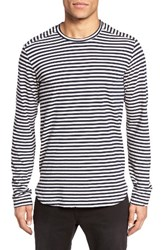 Velvet By Graham And Spencer Men's Newtown Stripe T Shirt