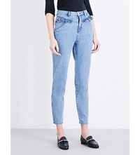 Claudie Pierlot Pulp High Rise Skinny Cropped Jeans