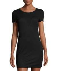 Lucca Couture Anais Jersey Tee Dress Black