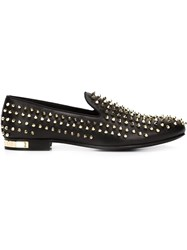 Philipp Plein 'Hammerstein' Loafers Black