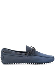 Tod's Driving Shoes Blue