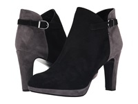 Vaneli Ionna Black Suede Grey Suede Women's Pull On Boots