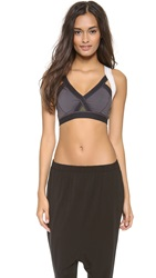 Vpl Insertion Bra Charcoal