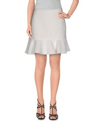Frankie Morello Skirts Mini Skirts Women White