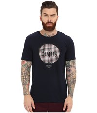 Ben Sherman Short Sleeve Beatles Drum Logo Tee Mb12742 Navy Blazer Men's T Shirt