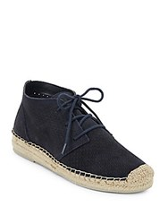 Dolce Vita Tibbie Perforated Suede Espadrille Sneakers Taupe