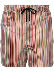 Paul Smith Striped Swim Shorts 60