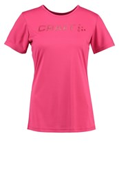 Craft Prime Sports Shirt Push Mottled Pink