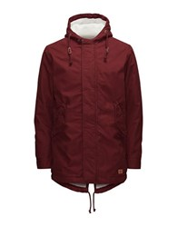 Jack And Jones Jorbenson Parka Jacket Syrah