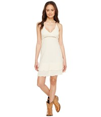 Scully Cantina Feline Organic Cotton Dress Natural Women's Dress Beige