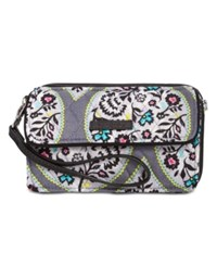 Vera Bradley Rfid All In One Crossbody Heritage Leaf