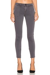 Sanctuary Union Zip Ankle Skinny Gray