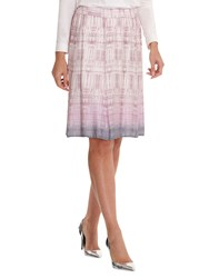 Betty Barclay Snake Print Skirt Rose Grey