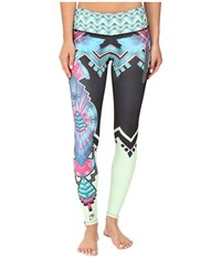 Onzie Cleo Graphic Leggings Cleo Women's Casual Pants Black