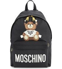 Moschino Toy Bear Backpack Black
