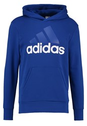 Adidas Performance Sweatshirt Collegiate Royal White Dark Blue
