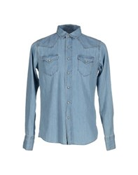 Htc Denim Denim Shirts Men