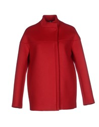Adele Fado Coats And Jackets Coats Women Red