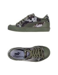 Puma By Miharayasuhiro Low Tops And Trainers Military Green