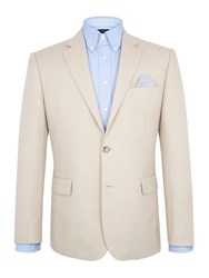 Paul Costelloe Sand Cotton Jacket Taupe