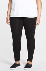 Plus Size Women's Eileen Fisher Ankle Leggings Black
