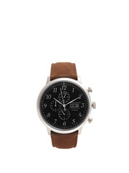 Armogan Spirit Of St. Louis Stainless Steel Watch Brown Multi