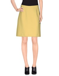 Tara Jarmon Skirts Knee Length Skirts Women Yellow