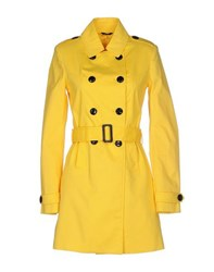 G.Sel Coats And Jackets Full Length Jackets Women Yellow