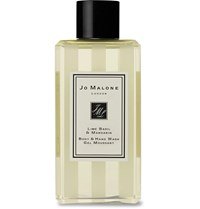 Jo Malone London Lime Basil And Mandarin Body And Hand Wash 100Ml Colorless