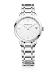 Baume And Mercier Classima 10335 Stainless Steel Bracelet Watch Silver