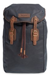 Men's Barbour Waxed Canvas Backpack