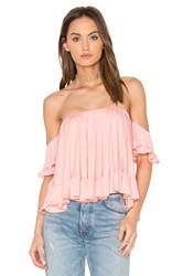 Vava By Joy Han Evelyn Top Coral