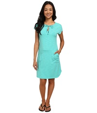 Lole Energic Dress Turquoise Mix Women's Dress Blue