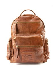 Rawlings Sports Accessories Rugged Leather Backpack