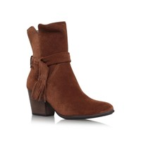 Paul Green Lindsay High Heel Ankle Boots Tan