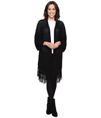 Brigitte Bailey Eriella Knit Cardigan Black Women's Sweater