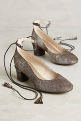 Anthropologie Lien. Do By Seychelles Pachuca Pumps Silver