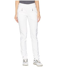 Jamie Sadock Skinnylicious Slimming Pull On Pants Sugar White Casual Pants