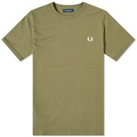 Fred Perry Authentic Ringer Tee Green