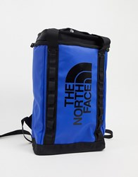 The North Face Explore Fusebox S Backpack In Blue