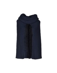 Scee By Twin Set Capes Dark Blue