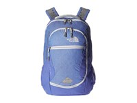The North Face Pivoter Stellar Blue Heather Arctic Ice Blue Backpack Bags