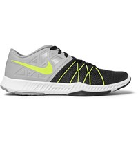 Nike Training Zoom Train Incredibly Fast Mesh And Rubber Sneakers Black