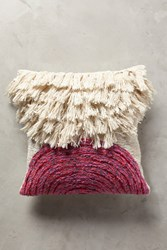 Anthropologie Marisol Pillow Medium Pink
