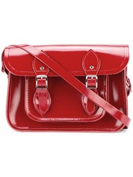 The Cambridge Satchel Company Double Buckle Red