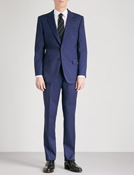 Gieves And Hawkes Regular Fit Wool Suit Navy
