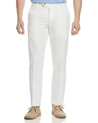 Brooks Brothers Relaxed Fit Chino Pants White