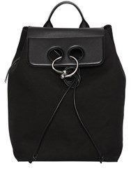 J.W.Anderson Pierce Cotton Canvas And Leather Backpack