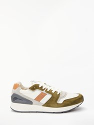 Ralph Lauren Polo Train Chunky Trainers Deep Olive
