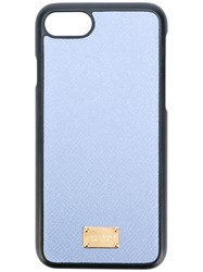 Dolce And Gabbana Logo Plaque Iphone7 Case Blue